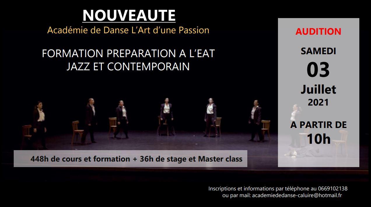 audition formation EAT jazz contemporain