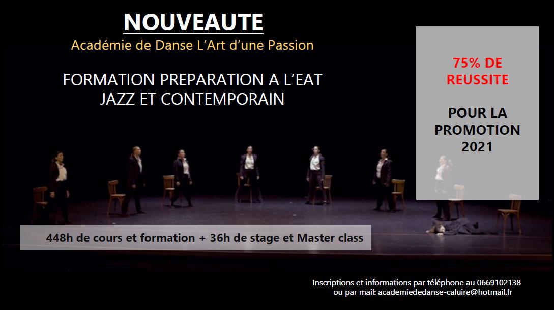 formation préparation à l'EAT - jazz et contemporain